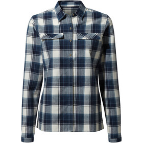 Craghoppers Dauphine Long Sleeved Shirt Women blue navy check